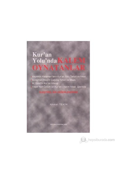 Kur'an Yolunda Kalem Oynatanlar