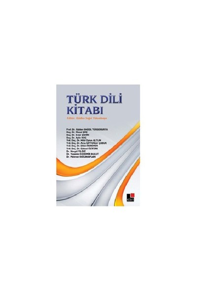 Türk Dili Kitabı - Mehmet Kocakaplan