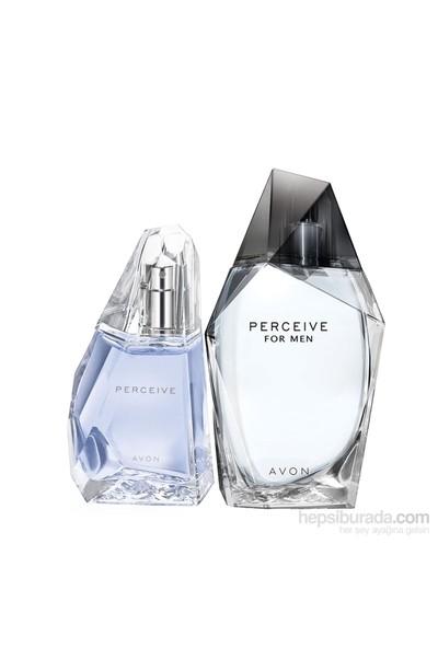 Avon Perceive Erkek ve Kadın Parfüm Set