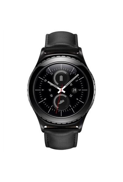 Samsung Galaxy Gear S2 Classic Akıllı Saat (Android ve iPhone Uyumlu) - Siyah SM-R7320ZKATUR (Samsung Türkiye Garantili)