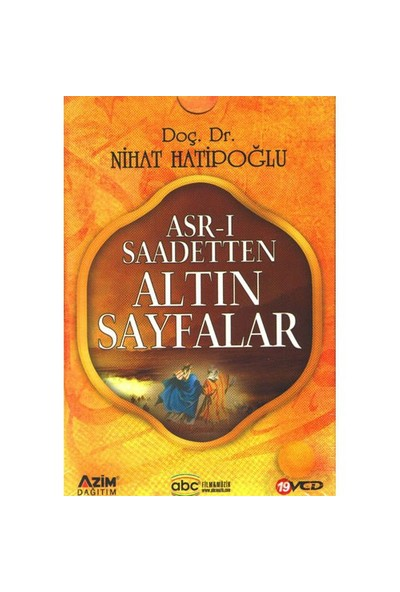 Asr-ı Saadetten Altın Sayfalar (19 VCD)