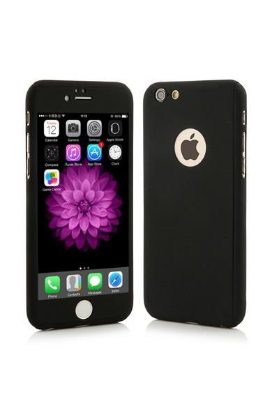 4Rmor İphone 6/6S Kılıf 360 Derece Tam Koruma Siyah