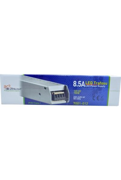 Ack 8,5A Slim Led Trafosu (100W) 12V