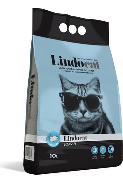 Lindo Cat Sabun Kokulu İnce Kedi Kumu 10 Lt