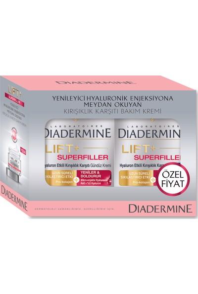 Diadermine Superfiller Gündüz+Gece Kremi 2li 50 Ml+50 Ml