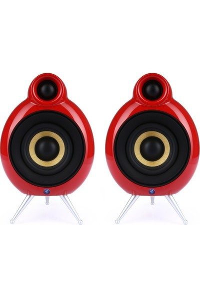 Podspeakers Micropod Bluetooth (2li Set) Kırmızı Hoparlör