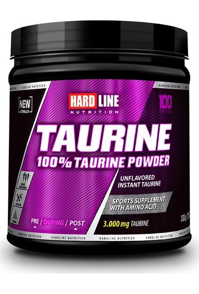 Hardline Nutrition Taurine Powder 300 Gr