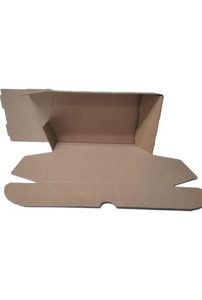 100 Adet Koli Kutu 0,98 Desi (25x15x7cm) Kargo Paket Taşıma Baskısız