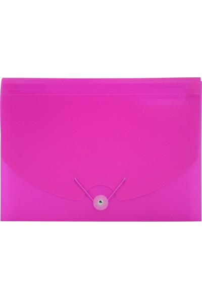 Umıx Neon Körüklü Evrak Dosyası A4 Pembe