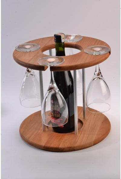 2E Ahşap Şarap Standı, Şaraplık, Ahşap Şaraplık