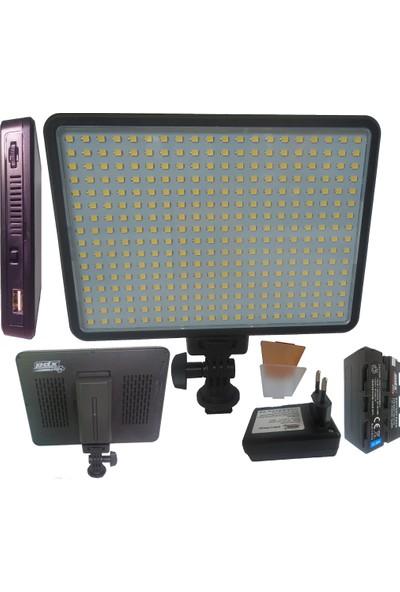 Pdx Led-320 Kamera Işığı, Kamera Tepe Lambası, Led Kamera Işığı, Sony Mc250 Işığı, Panasonic Ac8 Kamera Işığı