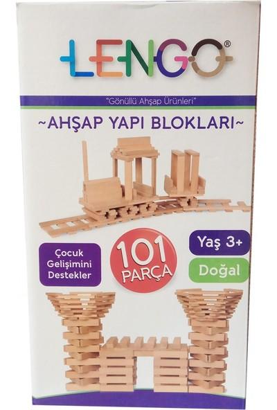 Lengo Ahşap Yapı Blokları 101 Parça