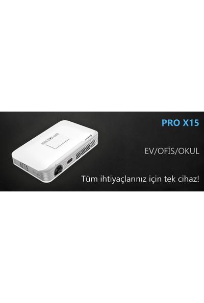 Promacto Pro X15 PLUS 6.0 Android Led Mini Projeksiyon Cihazı