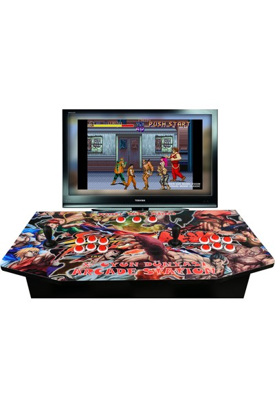 Arcade Station Tv Ye Bağlanan Atari Makinası Arcade Statıon