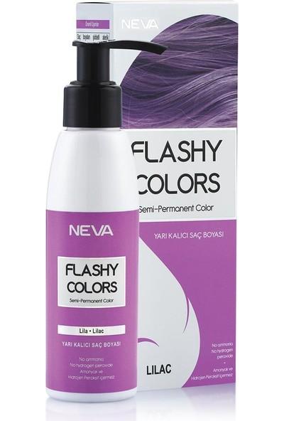 Neva Flashy Colors Yarı Kalıcı Saç Boyası Lila - Lilac