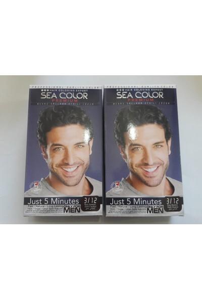 Sea Color Premıum Erkek Saç Boyası 3/12 Koyu Kestane Only For Men