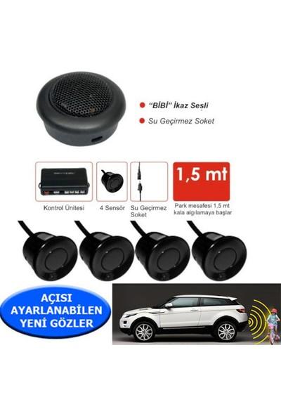 Park Sensörü Ses İkazlı SENTINEL Siyah Sensör