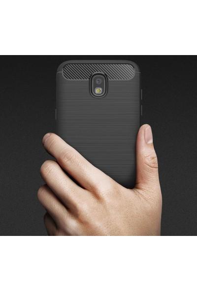 Eiroo Samsung Galaxy J7 Pro 2017 Carbon Shield Ultra Koruma Kılıf