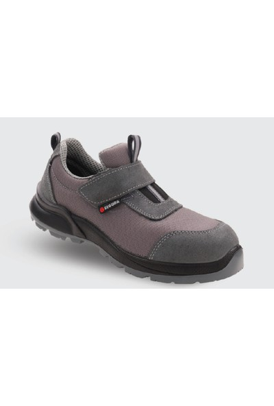 Segura Grant SGR51 Gri Yazlık Çelik Burunlu İş Ayakkabısı - 40