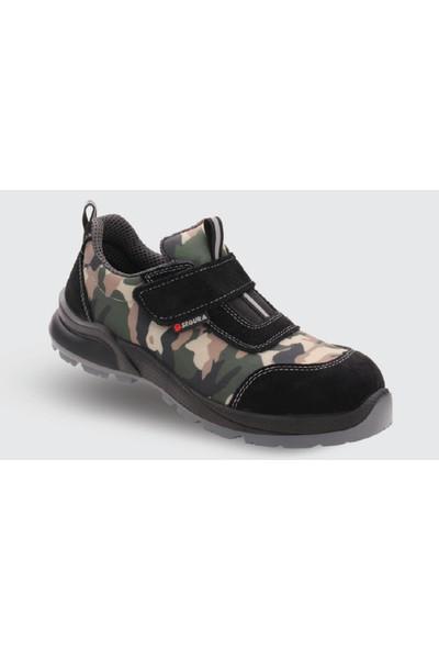 Segura SGR 511 Yazlık Çelik Burunlu İş Ayakkabısı 43