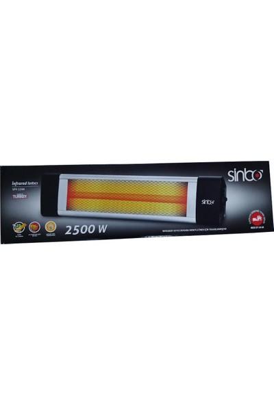 Sinbo SFH 3396 Duvar Tipi 2500 W Infrared Isıtıcı Soba Ayak Dahil