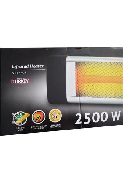 Sinbo SFH 3396 Duvar Tipi Infrared Isıtıcı 2500 Watt