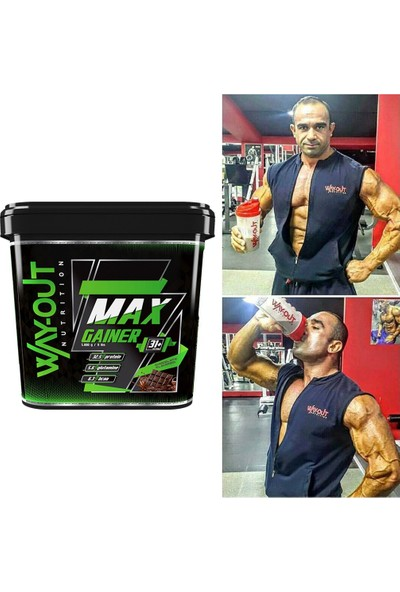 Way Out Nutrition Max Gainer Karbonhidrat Tozu 5000 Gr