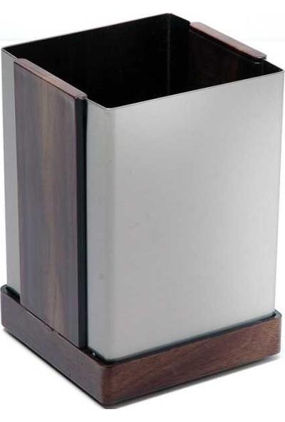 Yucetem 481 Kalemlik Köşeli Paslanmaz Metal Perforeli