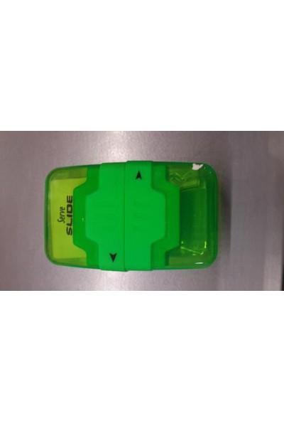 Serve Kalemtraşlı Silgi Slide Yeşil