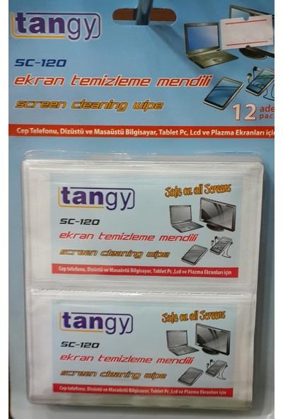 Tangy Sc-120 Ekran Temizleme Mendili 12 Adet