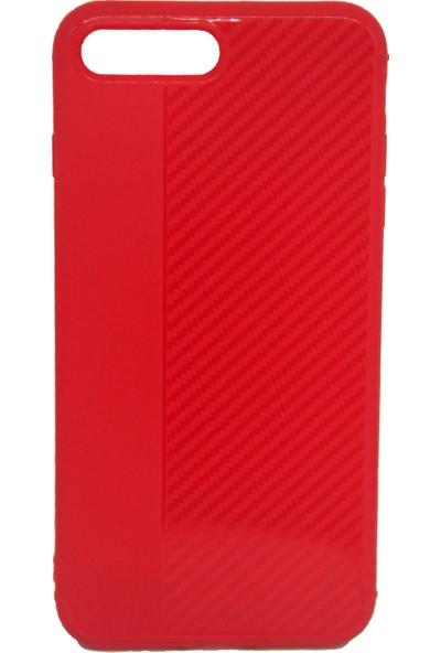 Orange iPhone 7G Plus Ultra Koruma Karbon Kılıf