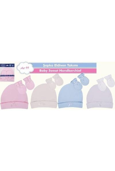 Sevi Bebe Şapka Eldiven Takım - Mavi
