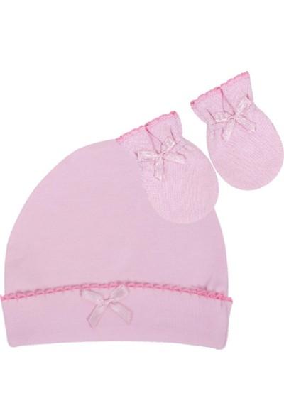 Sevi Bebe Şapka Eldiven Takım - Pembe