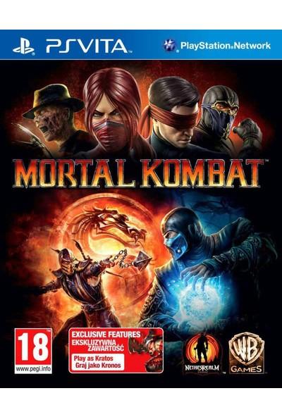 WB Ps Vıta Mortal Kombat