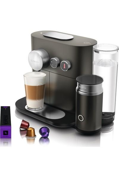 Nespresso D85 Expert Milk Anthracite Grey Kahve Makinesi