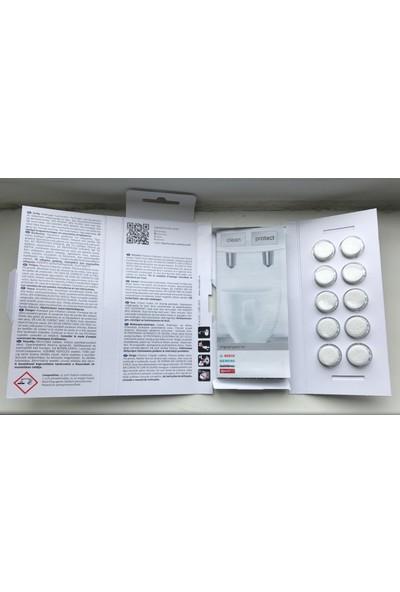 Bosch Kahve Espresso Makinesi Temizleme Tableti 2x10 Adet