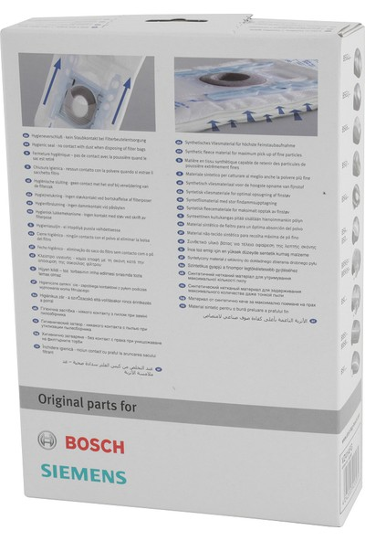 Bosch Elektrikli Süpürge TozTorbası G Tipi
