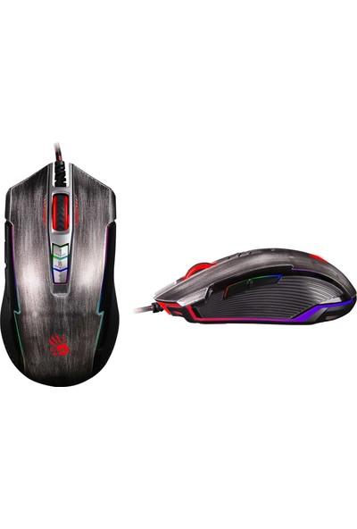 Bloody P93 Lk 5K Optik Multi Core Metal Ayak Kurşun Gri 5000Cpı-Rgb Oyuncu Mouse
