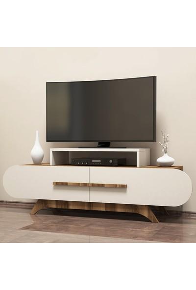 Variant Concept Rose Tv Ünitesi Ceviz - Ekru