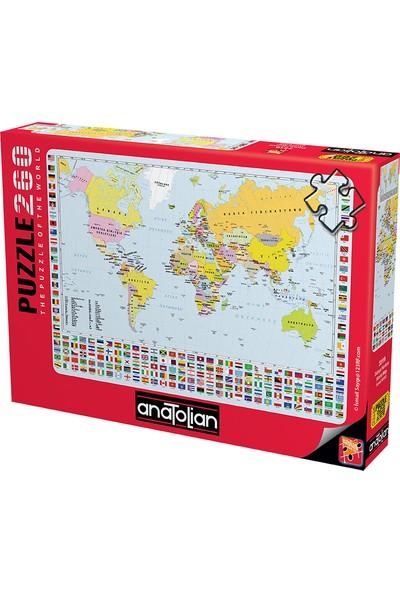 Anatolian 260 Parça Dünya Haritası 3319