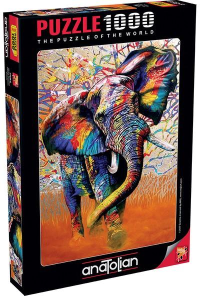 Anatolian 1000 Parça Afrika Renkleri 1054