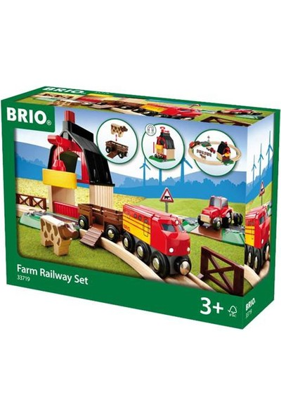 Brio Çiftlik Tren Yolu Seti ABR33719