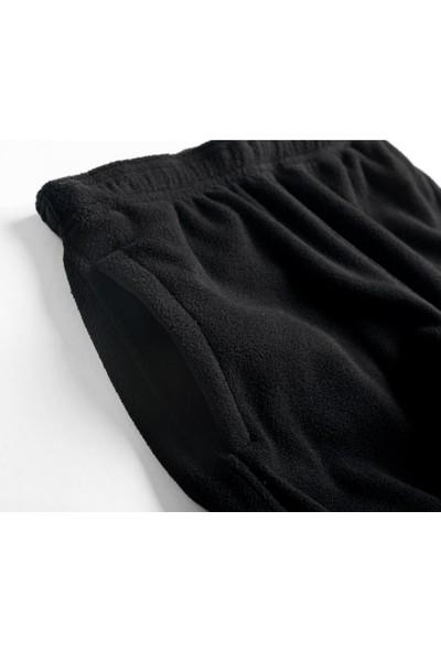 2AS Answer Fleece Erkek Polar Pantolon Siyah
