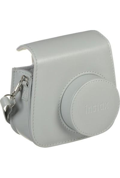 Fujifilm İnstax mini 8 - Mini 9 Uyumlu Çanta Gri