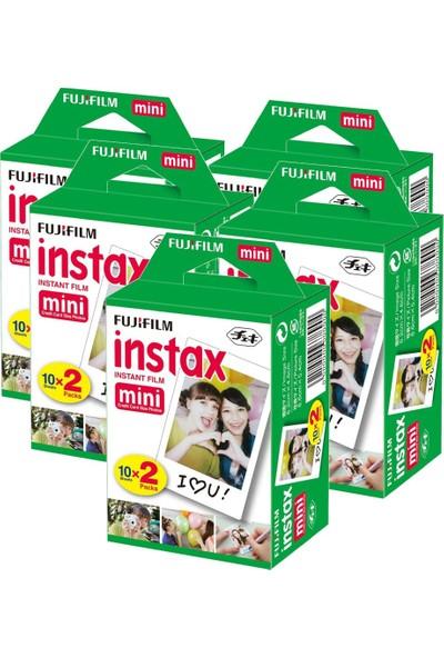 Fujifilm instax Mini 20'li Film 5'Lİ Paket 100 Paket