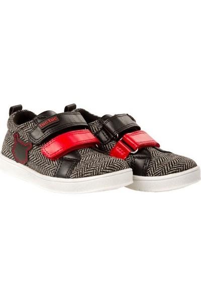 Tuc Tuc Erkek Çocuk Ayakkabı, Geometric Siyah Desenli