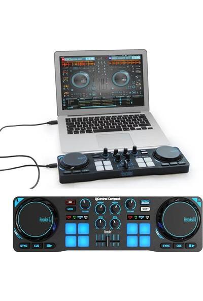 Hercules DJ Control Kompakt Taşınabilir Dj Cihazı