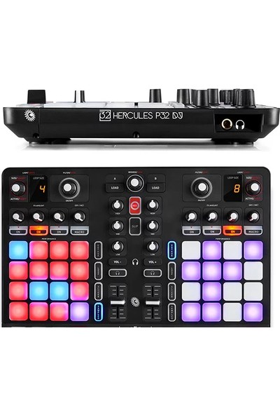 Hercules P32 Dj Gelişmiş DJ Kontrol Ünitesi