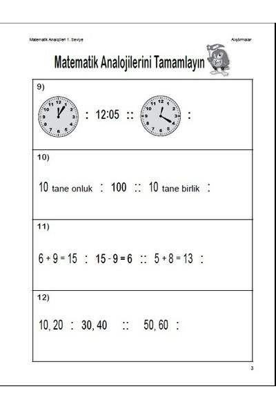 Matematik Analojileri 1. Seviye - Linda Brumbaugh