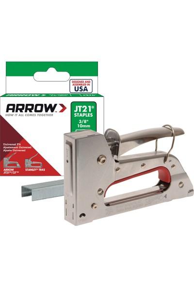 Arrow JT27 6-10mm Mekanik Zımba Tabancası + 1000 Adet Zımba